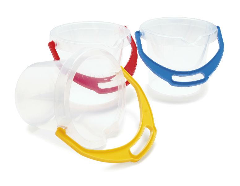 Dantoy Buckets Transparent
