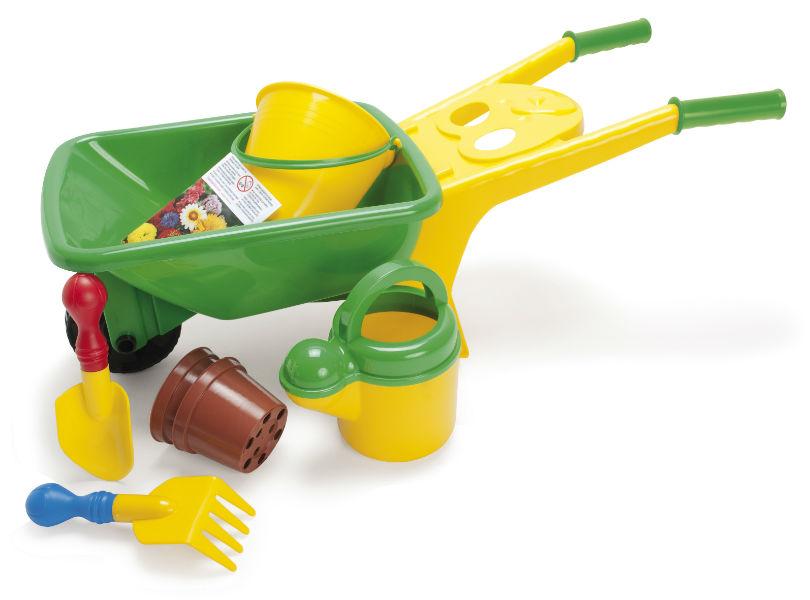 Dantoy Wheelbarrow Gardening Set