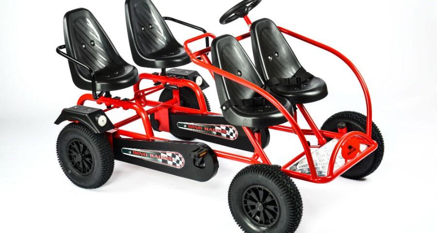 Dino Cars Go Kart Train