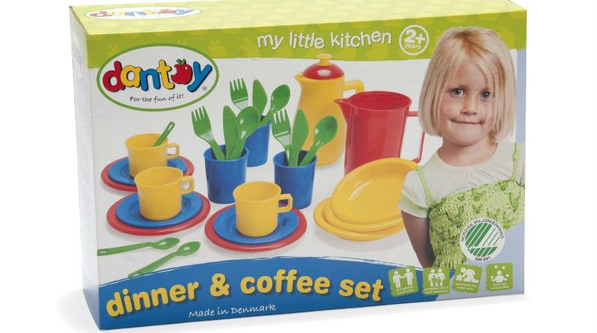 Dantoy Dinner & Coffee Set