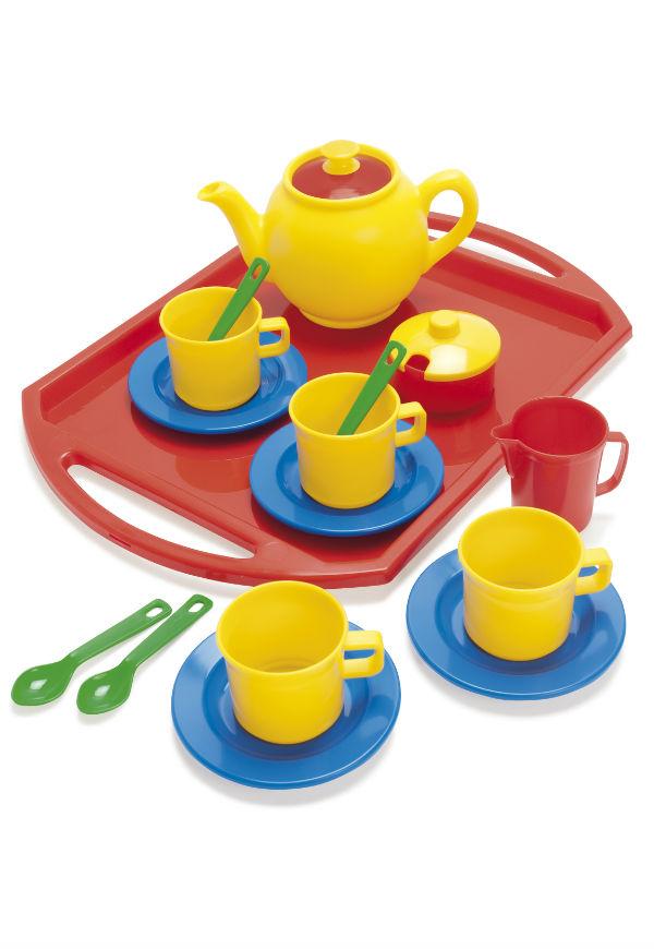 Dantoy Tea Set on Tray