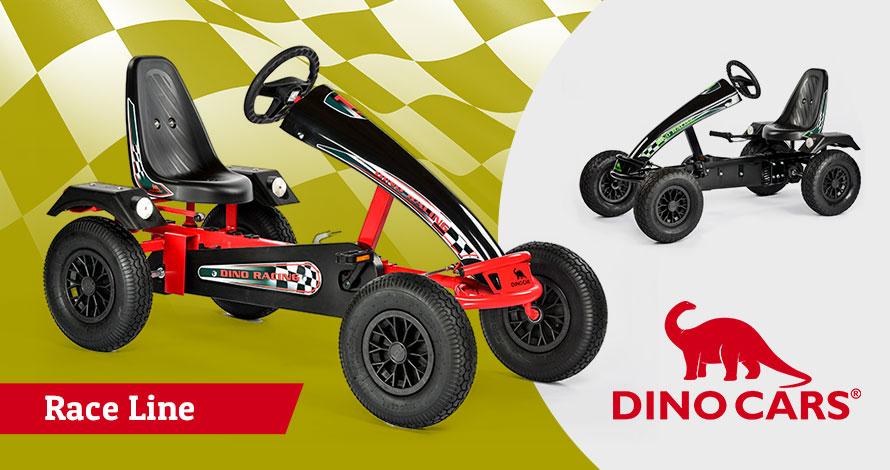 Dino Cars Race Line Go Karts