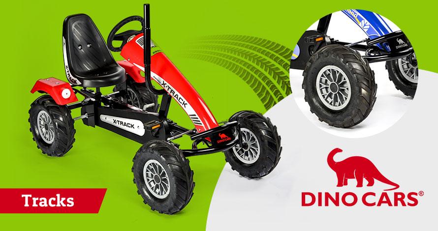 Dino Cars Tracks Go Karts
