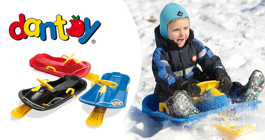Dantoy Snow Steering Sledge