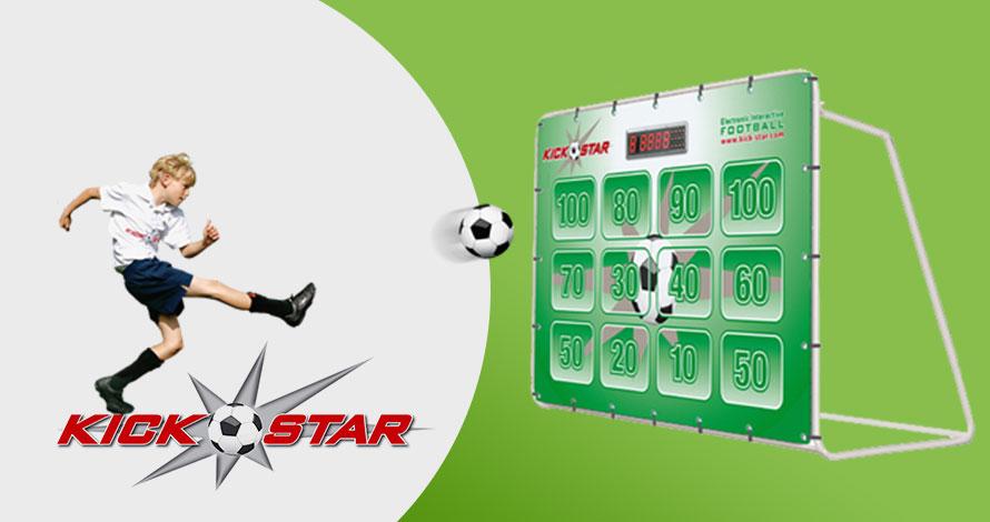 Kickstar interactive goal