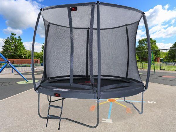 12ft Trampoline including safety net ladder