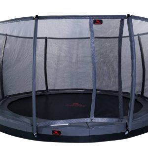 DTGR-10 Dino 10ft Flat level trampoline with safety net